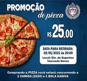 Promoção de Pizza Cianorte Futsal Feminino!